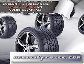 Venta de llantas Michelin, Pirelli, BFGoodrich, y muchas marcas mas