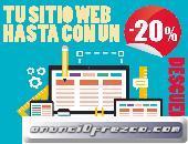 Diseño y construccion de páginas y sitios web de calidad para todo mexico