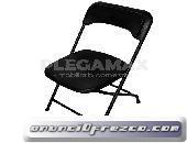 Vendo sillas ligeras de plastico plegables para fiestas