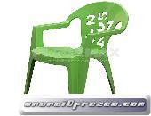 Venta de sillas infantiles de colores