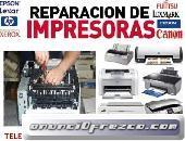 SERVICIO DE REPARACION DE PLOTTERS, IMPRESORAS, LAPTOPS Y EQUIPO DE COMPUTO EN GENERAL