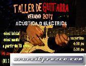 TALLER DE GUITARRA VERANO 2017