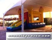inflable,trampolin y rockola 2