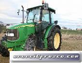 Donación de tractor john deere 5720