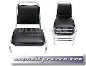 Vendo sillas estibables acojinadas para eventos