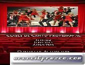 CURSOS/CLASES CANTO Y DESARROLLO ESCENICO