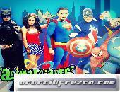 SHOW INFANTIL DE SUPER HEROES EN LA CDMX