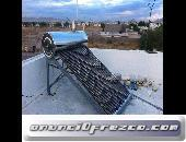 CALENTADOR SOLAR ECOMAQMX 130 LITROS 10 TUBOS