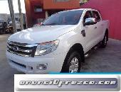 Ford ranger doble cabina modelo 2013