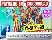 PAYASOS BUENA ONDA PARA TU PARY EN CHICONCUAC