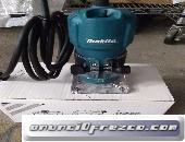 Fresadora 6mm 3709 Base plana, perfecta para trabajos en cantos.