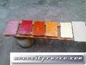carpintería y barniz