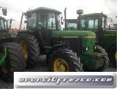 TRACTORES AGRICOLAS JOHN DEERE