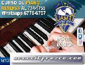Reserva tu curso de Piano en #Uamti David  Chiriqui  Whatsapp 67766707  Tel: 774-1755