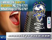 Reserva tu curso canto  en #Uamti David  Chiriqui  Whatsapp 67766707  Tel: 774-1755