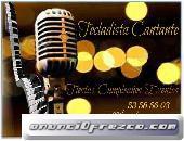 Tecladista Cantante Para Fiestas,Cumpleaños,Eventos
