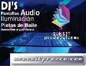 DJ Y PISTA DE BAILE BODA XV AÑOS LIBRES PUEBLA