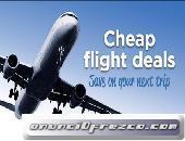 Reserve billetes aéreos baratos y obtenga excelentes ofertas en vuelos