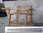 silla periquera de madera nueva para niño