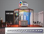 Fabricación de Stand para expos, aparadores Boutiques mostradores Isla comerciales