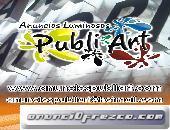 ANUNCIOS LUMINOSOS. ACERO INOXIDABLE, ALUMINIO, ACRILICO