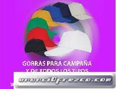 GORRAS PARA CAMPAÑA