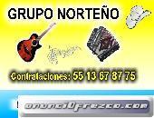 GRUPO NORTEÑO  CONTRATACIONES 5513678775