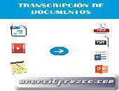 Transcripción Audio Y Video A Documento De Texto