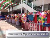 Mini ferias Infantiles tipo kermes en Puebla para fiestas