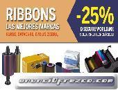 Ribbons las mejores marcas FARGO, DATACARD, EVOLIS, ZEBRA