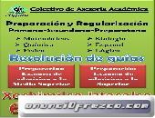 Regularización Primaria—Secundaria—Preparatoria