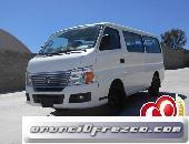 Lleva tu Nissan Urvan 2013 5P