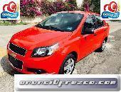 Espectacular Chevrolet Aveo LS 4p 2013