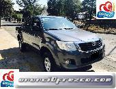 Adquiere tu Toyota Hilux 4x2 2013 al mejor precio