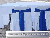 Mobiliario para invitados especiales en venta