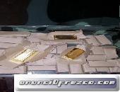 Vender lingotes de oro a un precio inmejorable.