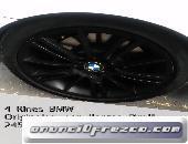 Juego de 4 LLantas y Rines pirelli BMW/245/40/r18 runflat Originales
