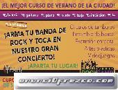 Curso De Verano para Niños y Jóvenes Especializado en Bandas de Rock y DJ