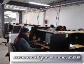 Estaciones operativas en renta para Call Center 4
