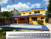 En Merida Zona Norte Casa amueblada de 3 habitaciones en Cholul