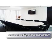 Sala de juntas para talleres reuniones en mejores zonas