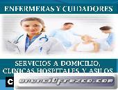 Cuidadores y enfermeras a domicilio y en hospitales en la CDMX