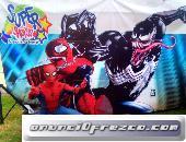 SHOW DE SPIDERMAN EN PUEBLA, SUPERHEROES, avengers, IRONMAN