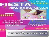 Fiesta Spa temática Unicornio Tlalpan