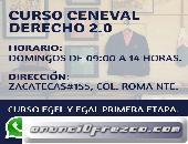 CURSO CENEVAL DERECHO