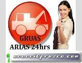 GRUAS LAS 24 HRS PARA VEICULOS