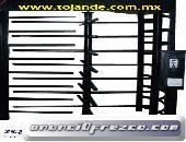 Puertas Giratorias con Sistema de Cobro