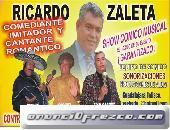COMEDIANTE IMITADOR Y CANTANTE !EL MEJOR! RICARDO ZALETA