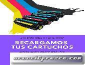 RECARGAMOS TU CARTUCHOS DE TINTA O TONER