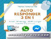 Mejora Los Resultados De Tu Negocio Online, Auto-Respondedor 3 en 1